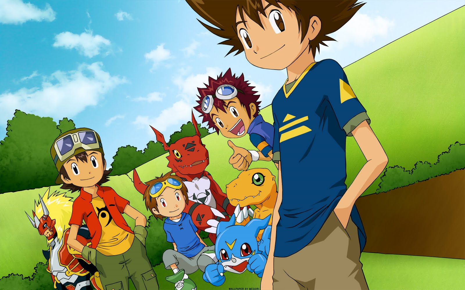Elva Barnett: digimon wallpapers