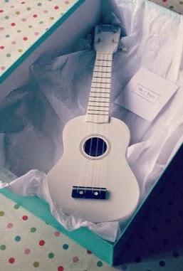 My 1st Years White Personalised Ukulele Free Luxury Gift box