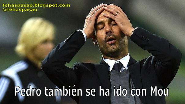 Pep Guardiola Pedro Mou Mourinho Chelsea