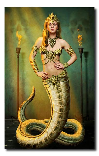 Женщина-змея Эттерия