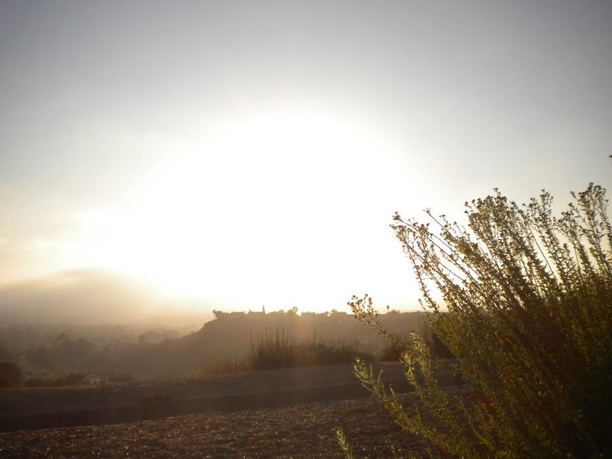 Vista  Etreté en el Sol