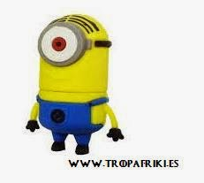 Memoria USB Minion 8GB 6€