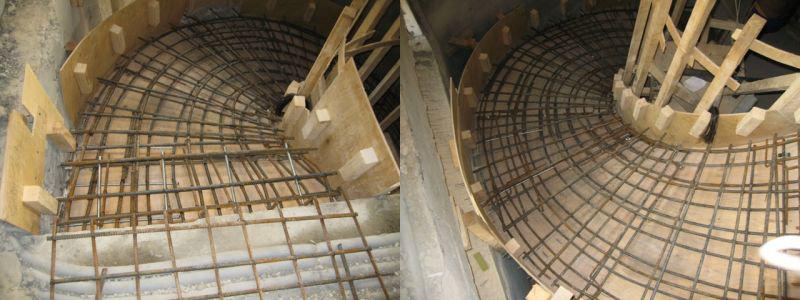Бетонная лестница на второй этаж видео