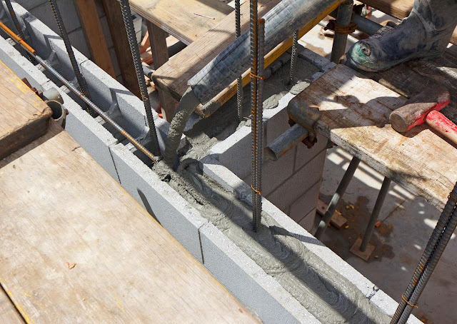 Concrete Block Rebar : Concrete block walls the new zealand s first passive house