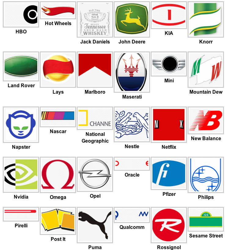 The Ethan News: Logos Quiz App Level 3 Answers