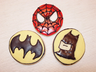 Galletas Spiderman Batman