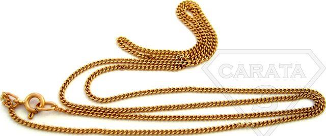 Золотая цепочка красивого плетения