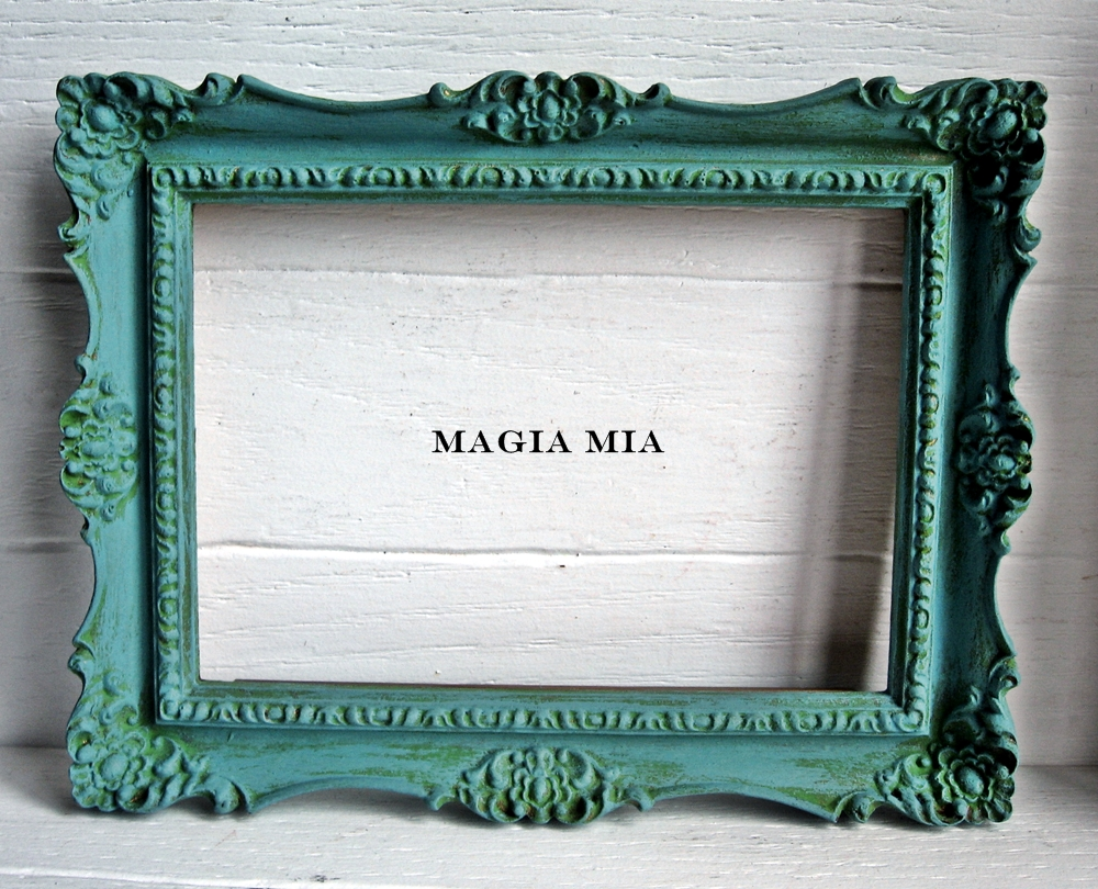 Magia Mia: Chalk-painted Frame/Chalkboard & First Dibs to my Readers