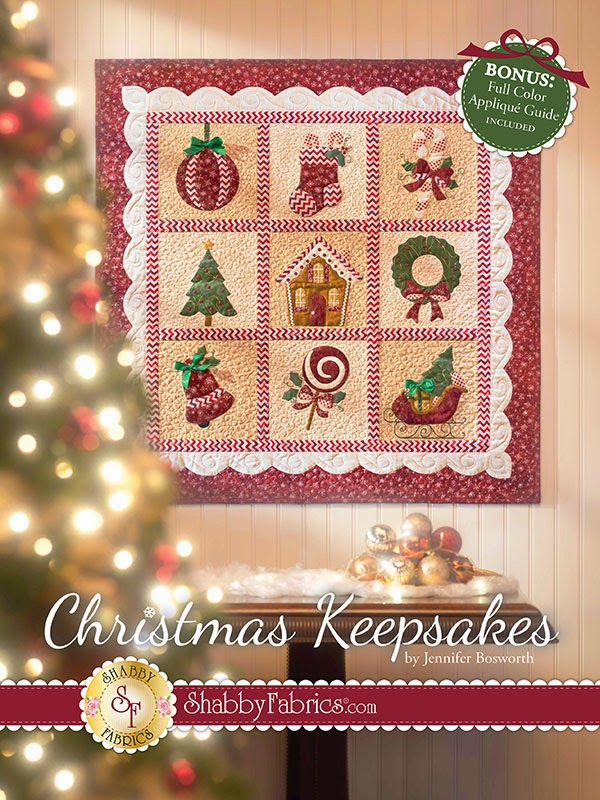 Shabby Fabrics Christmas Keepsakes Book