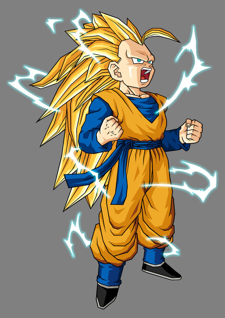 dragon ball z wallpapers goten super saiyen3
