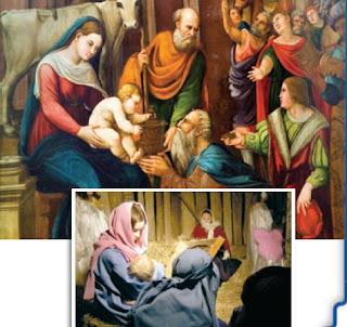 ภาพวาดพระเยซูประสูติ