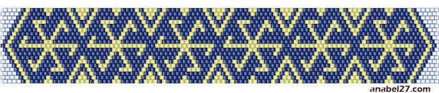 солярные символы схема бисер мозаичное плетение браслет коловрат солнцеворот