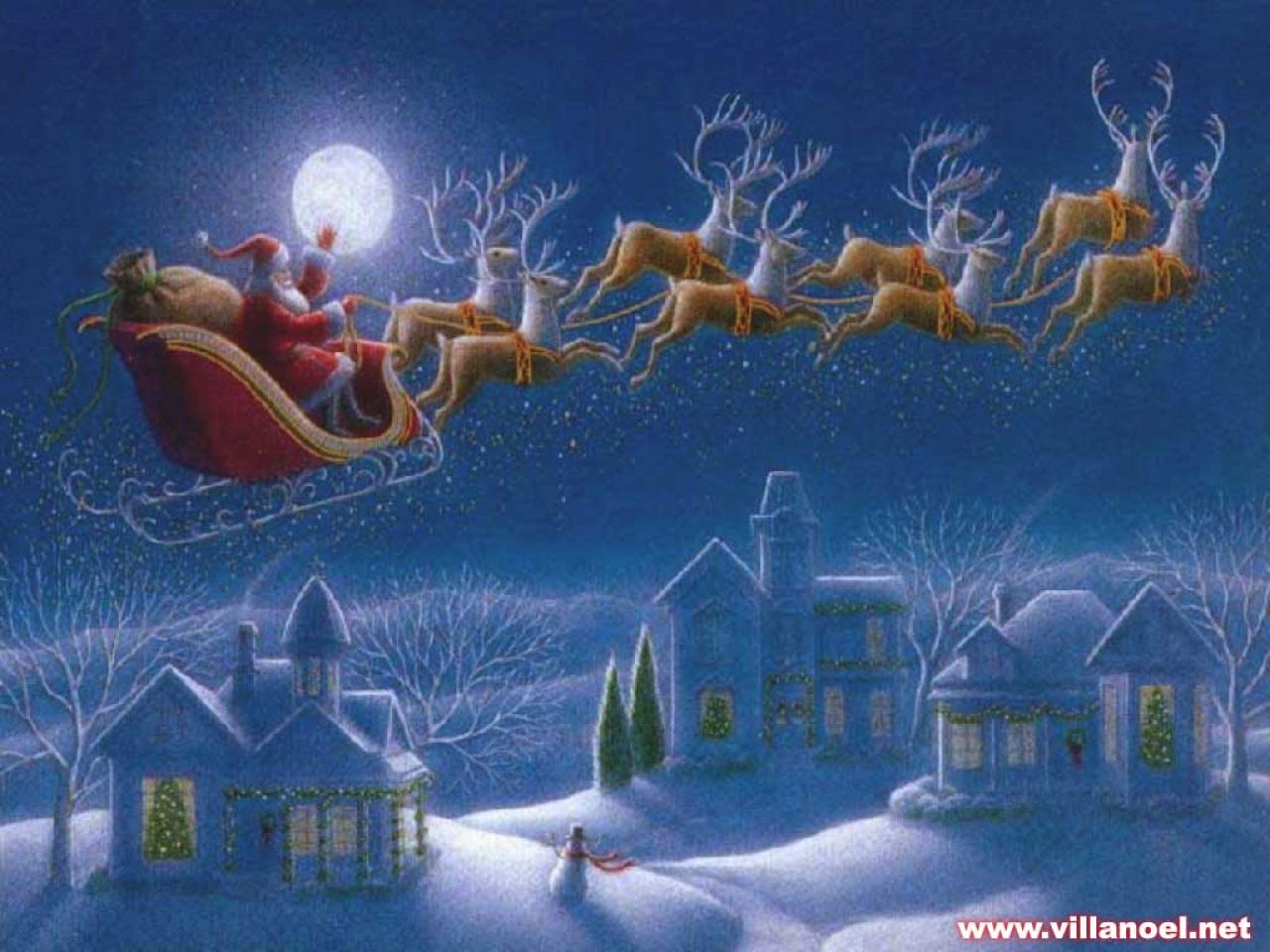 Saray camero inform tica 4 e s o dise o de tarjeta de - Paisaje nevado navidad ...