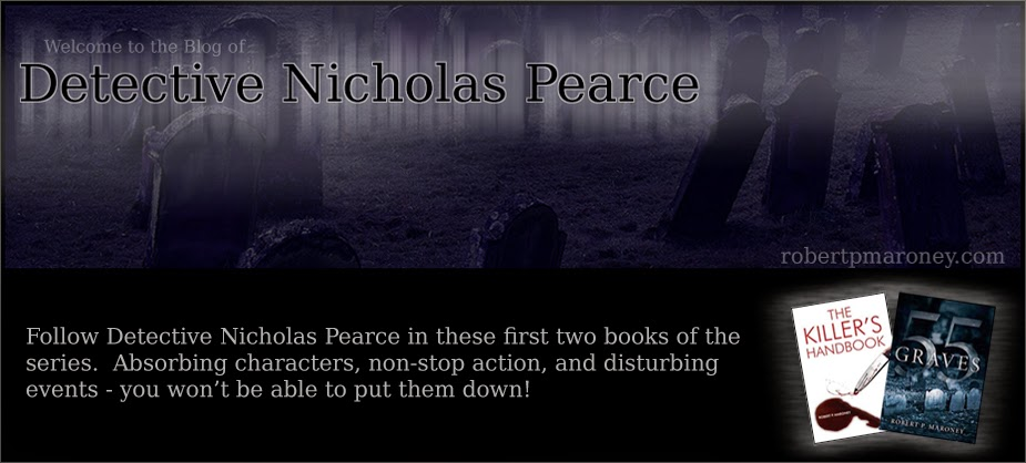 Welcome to the Detective Nicholas Pearce Blog!