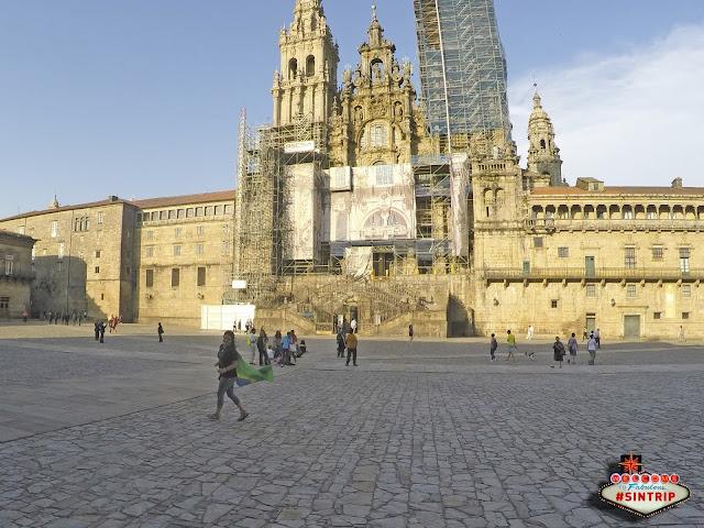 Dia 10: Santiago de Compostela (Espanha) - Compostela, hotel, briga, paz e jantar