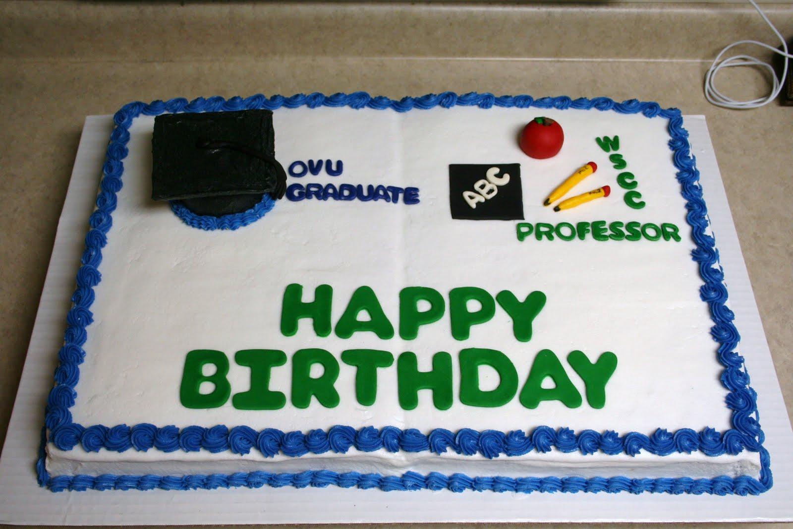 Michele Robinson Cakes Birthdaygraduationcongratulations Cake
