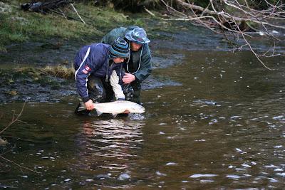 Salmon fishing in Haida Gwaii courtesy Escott Lodge.