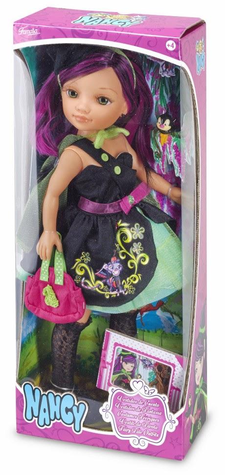 JUGUETES - NANCY  Vestidos de Cuento - Brujita | Muñeca  El Mago de Oz  Producto Oficial | Famosa 700012079 | A partir de 4 años