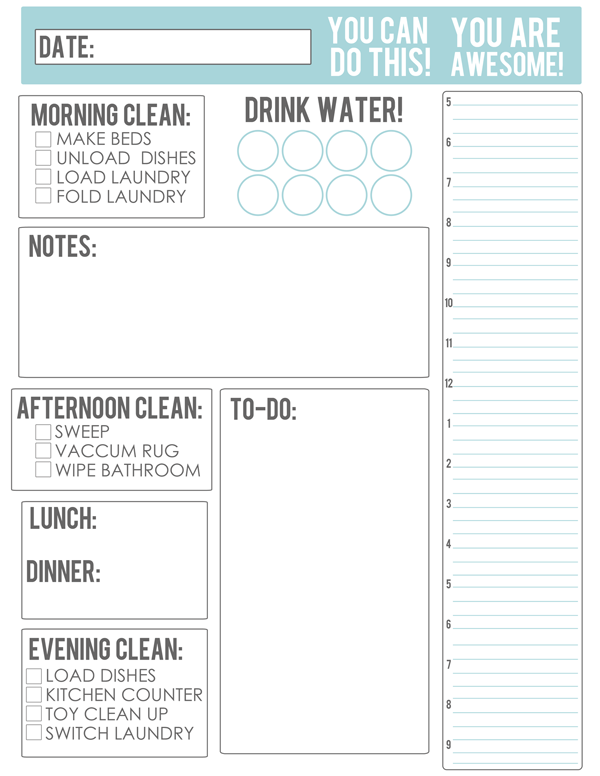 my new game plan free housework meal planning printable at home with natalie. Black Bedroom Furniture Sets. Home Design Ideas