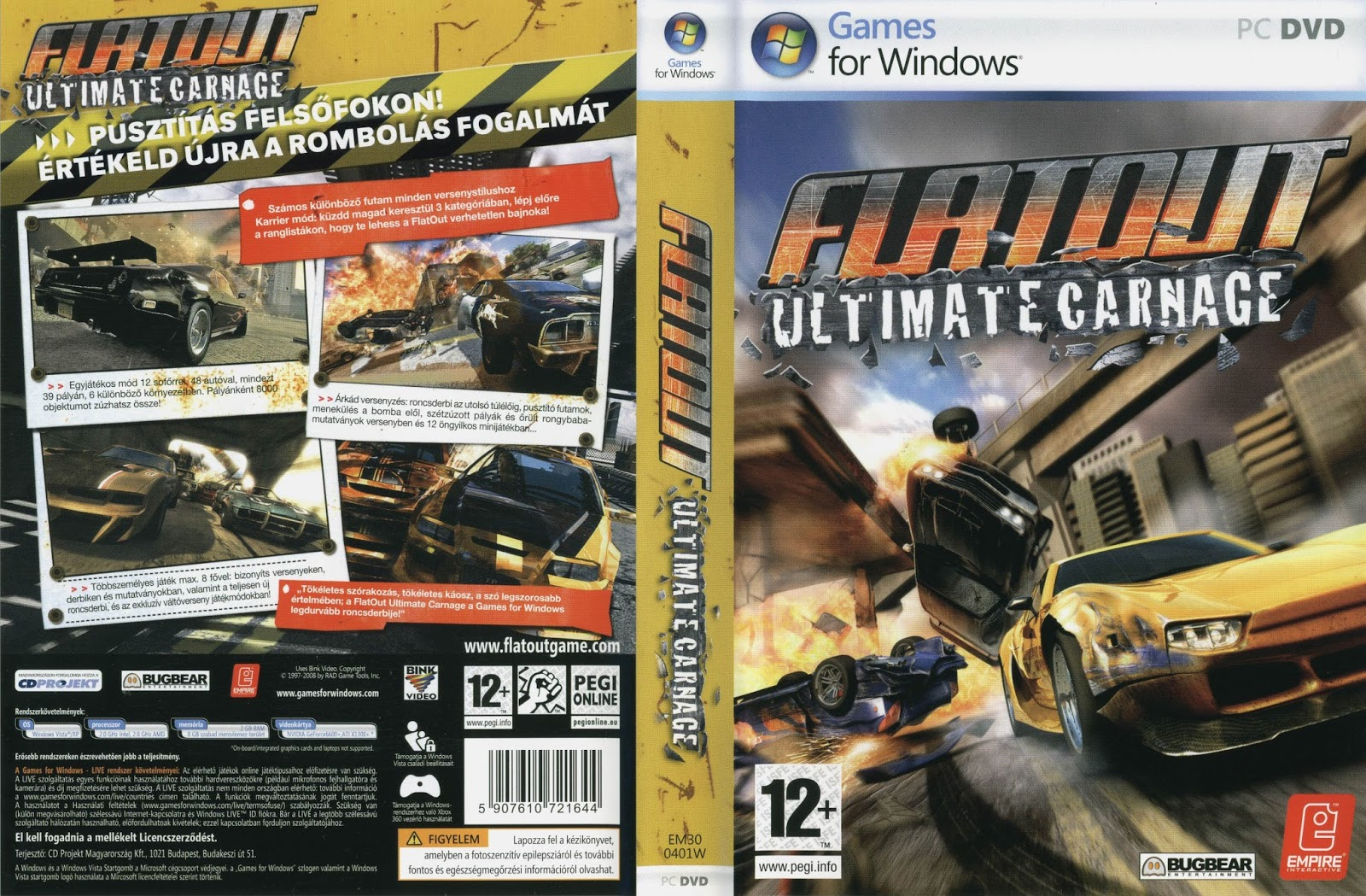 flatout 2 ultimate carnage download torrent