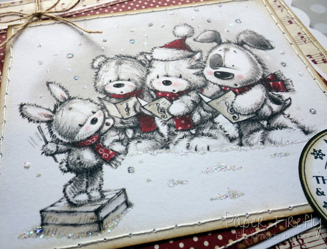 Cute critters carol singing (image from LOTV)
