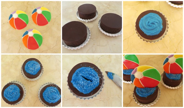 The Partiologist Beach Ball Brownies