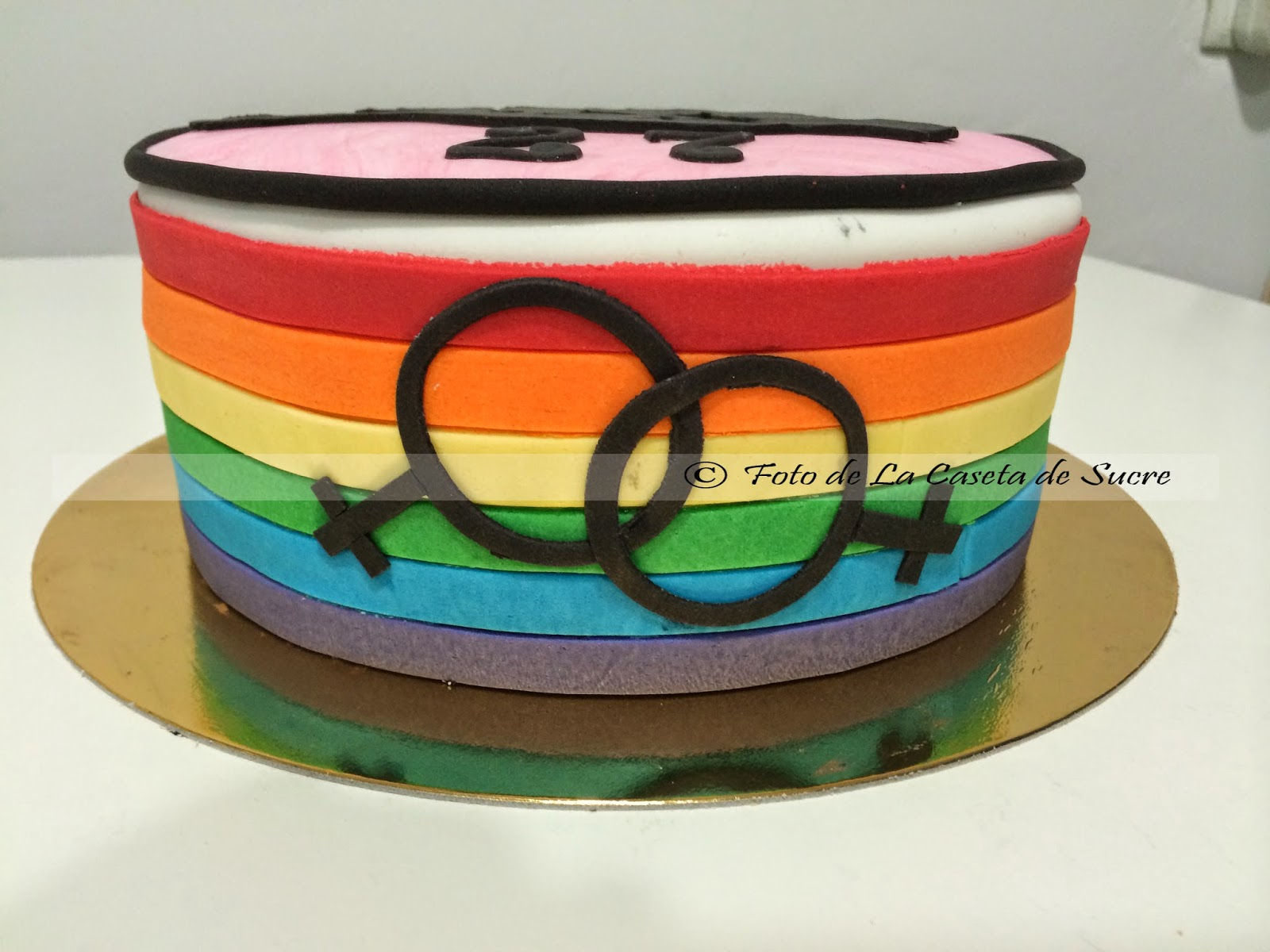 tarta orgullo gay