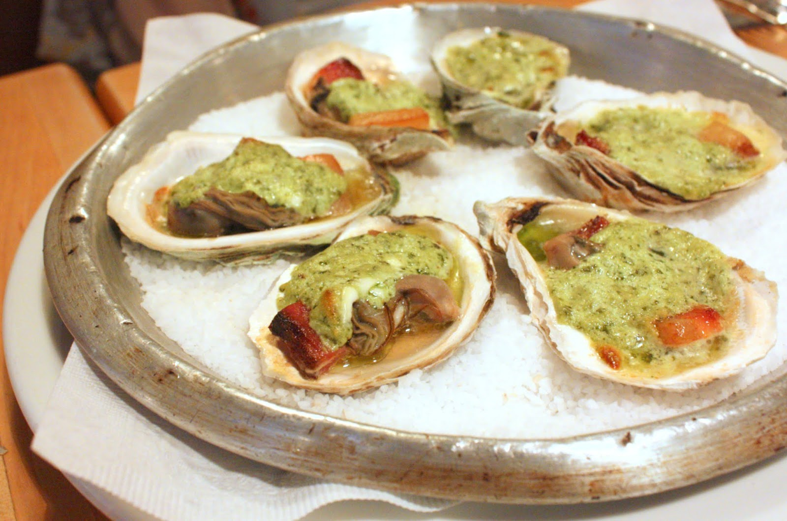 Baked Oysters With Cheese Baked oysters - double smoked