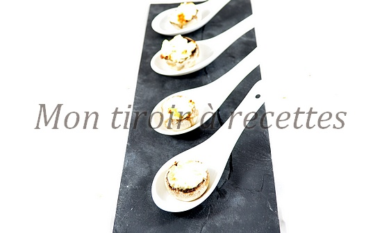 champignons farcis fromage