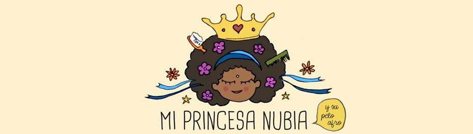 Mi princesa Nubia y su pelo Afro