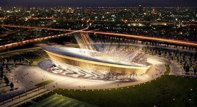 Foto Megahnya Stadion World Cup 2018 Rusia