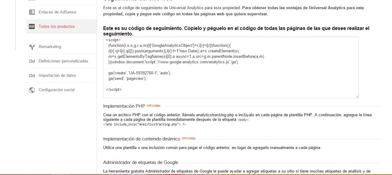 Pasos de Google Analytics 7
