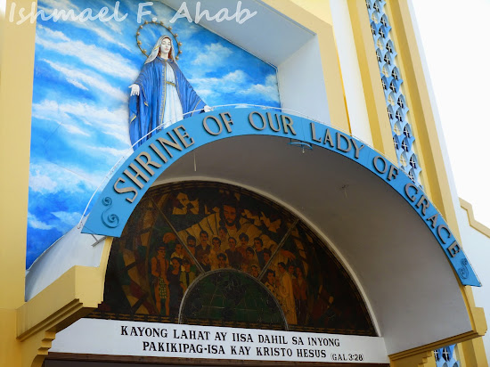 Facade of the Shrine of Our Lady of Grace