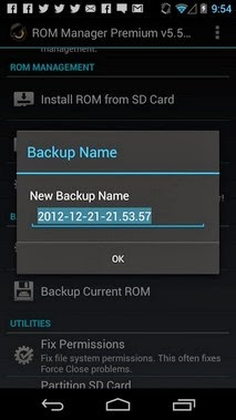 ROM Manager For Android
