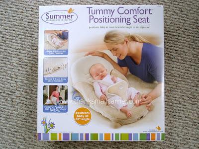 tummy comfort positioning seat