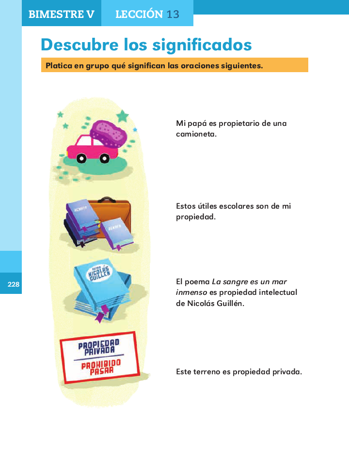 Descubre los significados español 2do bloque 5/ 2014-2015