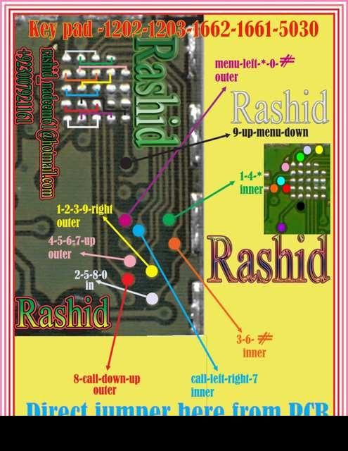 5030 keypad ic. 1203 1662 keypad ic