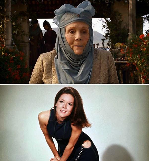 Game of Thrones Emma Peel Olenna Diana Rigg
