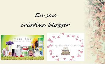 Eu sou Criativa Blogger
