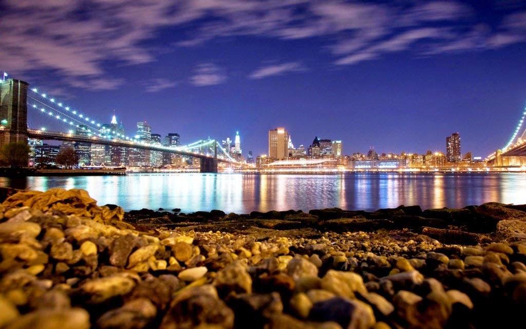 New york city night hd desktop wallpaper