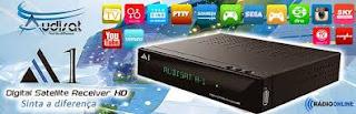 AUDISAT A1 HD V1.1.27 KEYS 22W / 61W -ATUALIZAÇÃO 23/07/2015