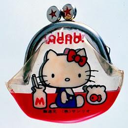 Porta-moedas Hello Kitty