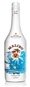 Una tormenta de invierno con Malibu Winter Edition