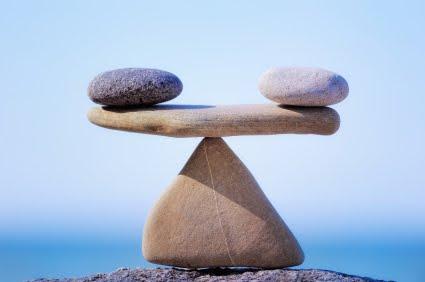 l'équilibre dans la vie