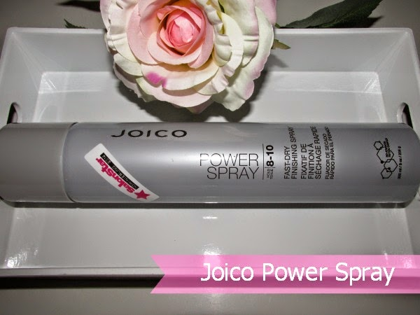 Joico Power Spray 8-10 - Review