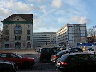Gertrauden Straße, loch, baustelle