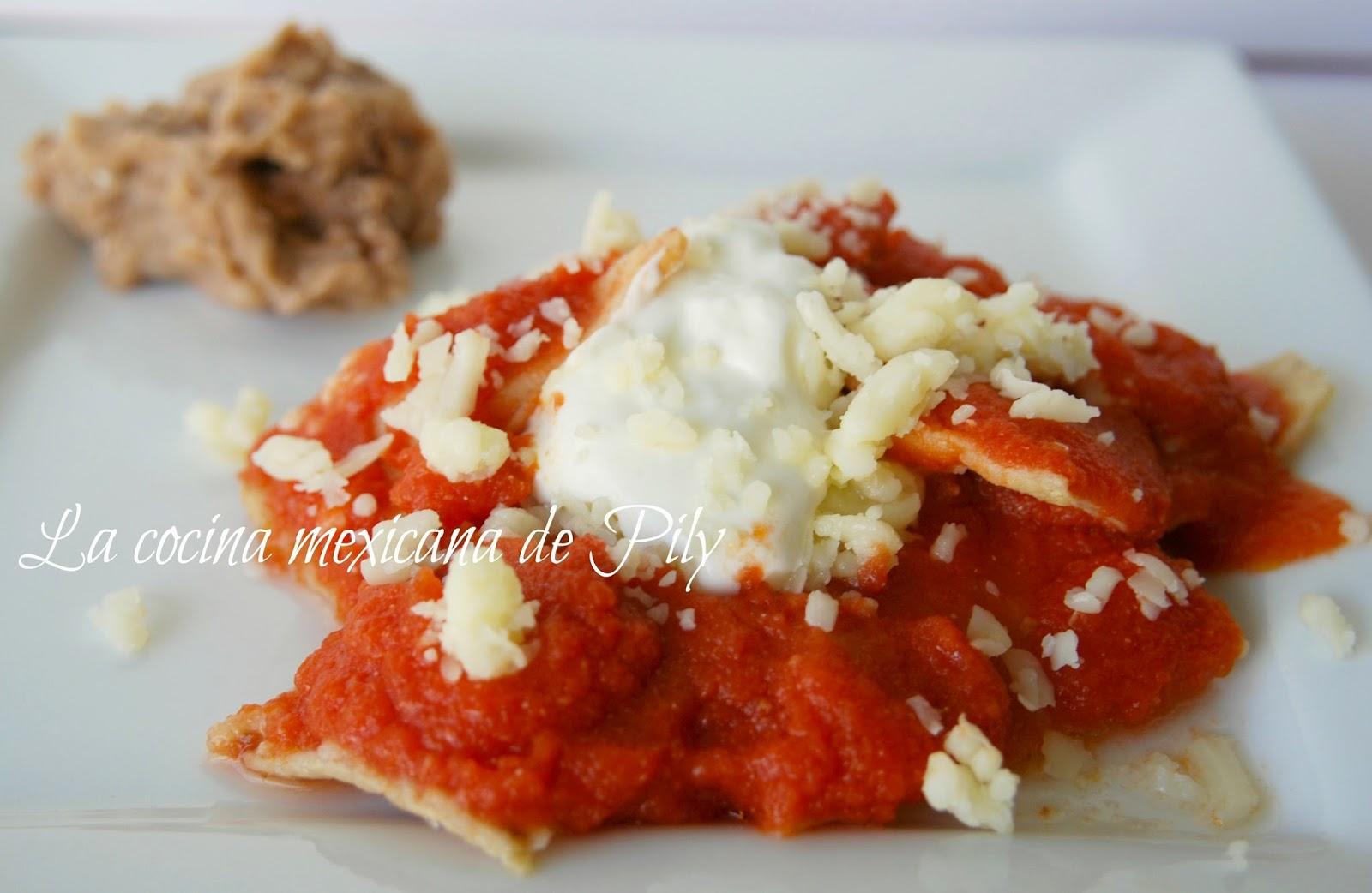 Chilaquiles Rojos Recipes — Dishmaps