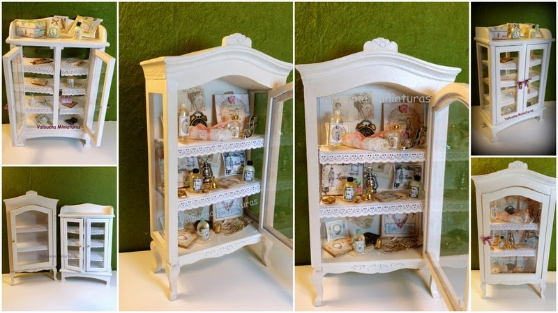 Miniaturas las vitrinas de isabel 2 - Vitrinas para casa ...