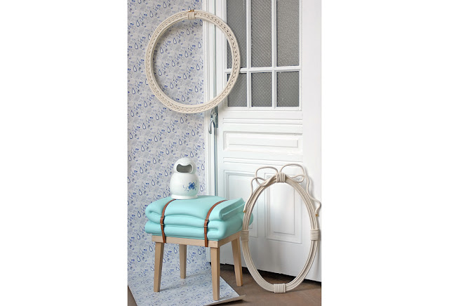 soon salon rope picture frame