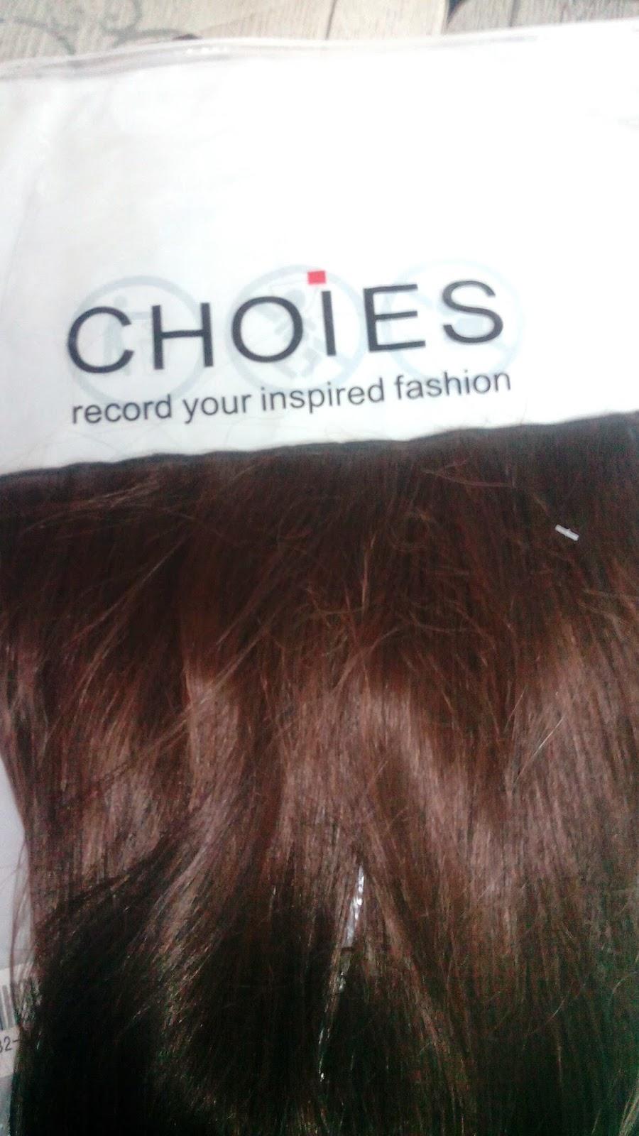 extensiones de pelo de choies